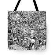 Steamship Salon, C1890 Tote Bag by Granger