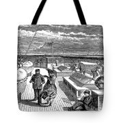 Steamships: Deck, 1870 Tote Bag