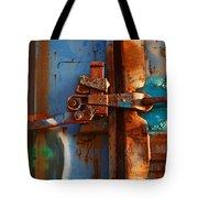 Steel Blues Tote Bag