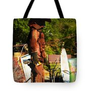 Steel Gunfighter Tote Bag