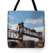 Steel Water Hdr Number 1 Tote Bag