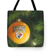 Steelers Ornament Tote Bag