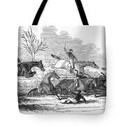 Steeplechase, 1845 Tote Bag