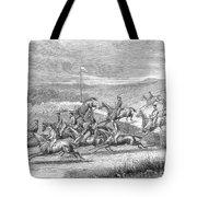 Steeplechase, 1863 Tote Bag