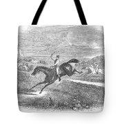 Steeplechase, C1880 Tote Bag