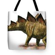 Stegosaurus Armatus, A Prehistoric Era Tote Bag