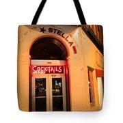 Stella Cocktail Bar At Night Tote Bag