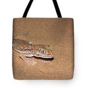 Stenodactylus Petrii Or Dune Gecko Tote Bag