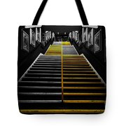 Step By Step Tote Bag
