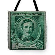 Stephen Collins Foster Postage Stamp Tote Bag