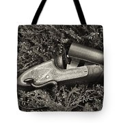 Stephen Grant And Sons Side Lever Twelve Bore - D003359-bw Tote Bag