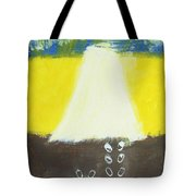 Stepping Into The Light Tote Bag