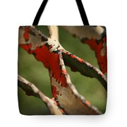 Stepping Up Abstract Tote Bag