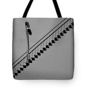Steps In The Shadows Tote Bag