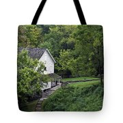 Steps To The Mill Tote Bag
