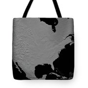 Stereoscopic View Of North America Tote Bag
