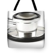 Stethoscopes Diaphragm Tote Bag by Photo Researchers, Inc.