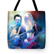 Steve Lukather And Leland Sklar From Toto 02 Tote Bag