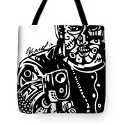 Stick Em Up Tote Bag