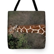 Sticking Your Neck Out Tote Bag