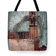 Still Decorated With A Wreath Tote Bag by Priska Wettstein