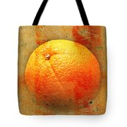 Still Life Orange Abstract Tote Bag