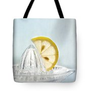 Still Life With A Half Slice Of Lemon Tote Bag