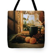Still Life With Hopper Tote Bag