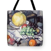 Still Life With Melons And Grapes Tote Bag by Samuel John Peploe