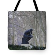 Still Thinking Tote Bag by Bill Cannon