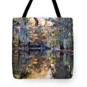 Still Waters - Autumn Reflections Tote Bag