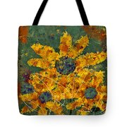 Stimuli Floral - S04ct01 Tote Bag by Variance Collections