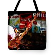 Sting In Concert Tote Bag
