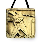 Stock Exchange Miners Tote Bag