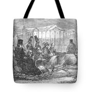 Stockholm: Sleighing, 1850 Tote Bag
