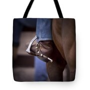 Stockhorse And Spurs Tote Bag