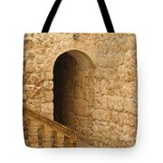 Stone Arch And Stairway Tote Bag