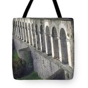 Stone Arches And Shadows Tote Bag