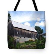 Stone Cottage Barn Tote Bag