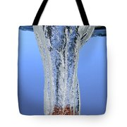 Stone Dropped In Water Tote Bag