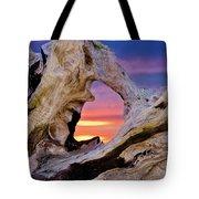 Stone Lagoon Sunset Redux Tote Bag