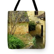 Stone Stairs To Hamlet Tote Bag