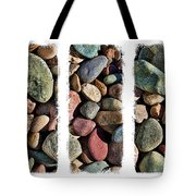 Stone Triptych 3 Tote Bag