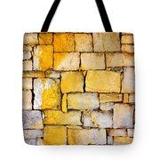 Stone Wall Tote Bag by Carlos Caetano