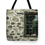 Stone Wall With A Window Tote Bag