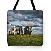 Stonehenge Landscape Tote Bag