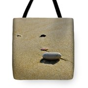Stones In The Sand Tote Bag