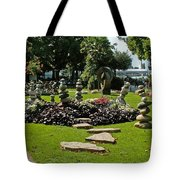 Stones Of Montreux Tote Bag