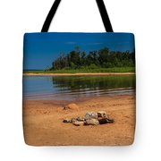 Stones On The Beach Tote Bag