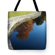 Stonewall And Autumn Reflections Tote Bag